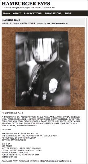 Mankind Magazine Issue 2